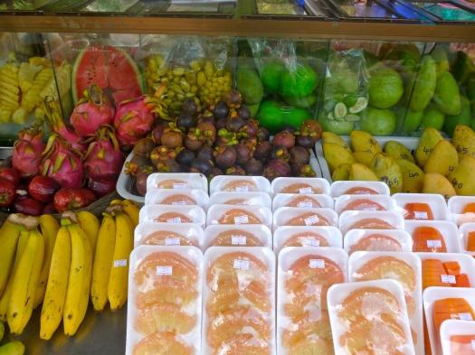 Fruit stand, Ao Nang