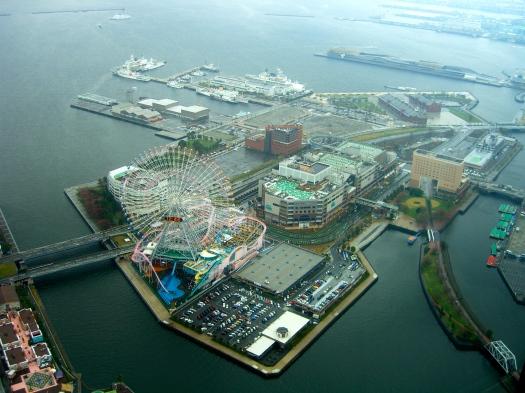 View from Landmark Tower, Yokohama